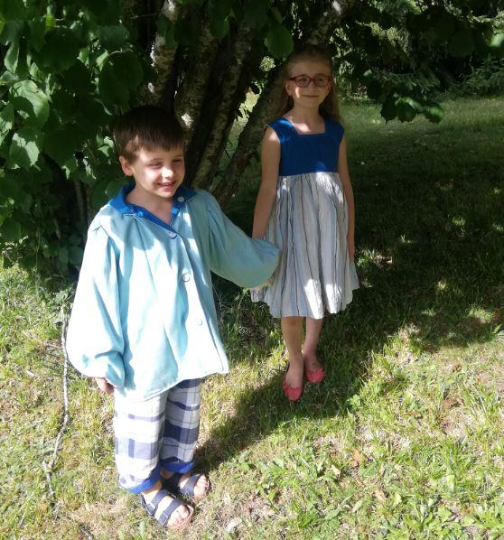 Les enfants d'honneur de Fifi au jardin Mariages_i12345678912345678912345