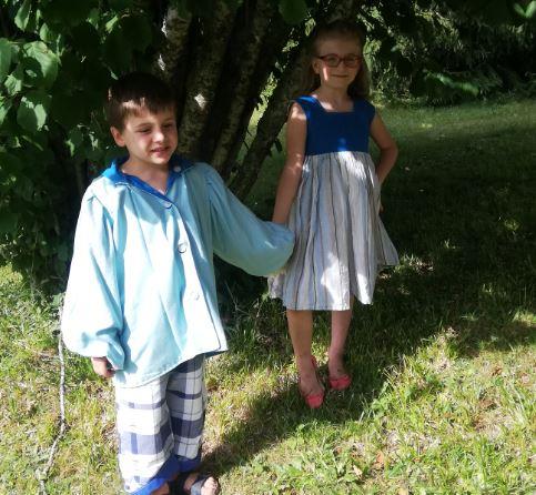Les enfants d'honneur de Fifi au jardin Mariages_i1234567891234567891234567