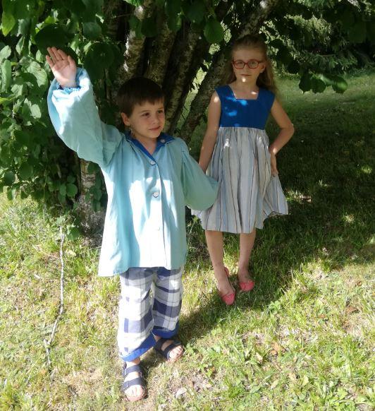 Les enfants d'honneur de Fifi au jardin Mariages_i12345678912345678912345678