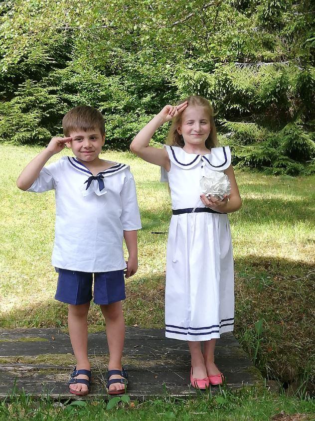 Les enfants d'honneur de Fifi au jardin Mariages_i21