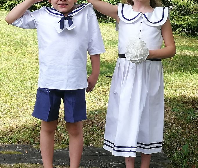 Les enfants d'honneur de Fifi au jardin Mariages_i212