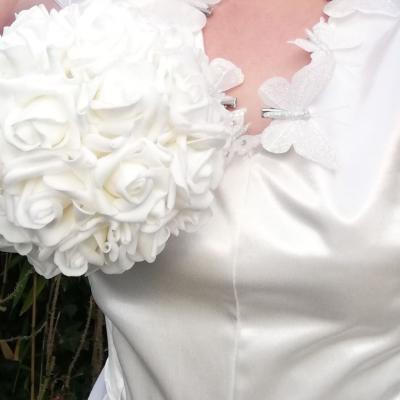 Robe Les Créations _Les Mariées de Fifi au jardin_ robe et traîne _i