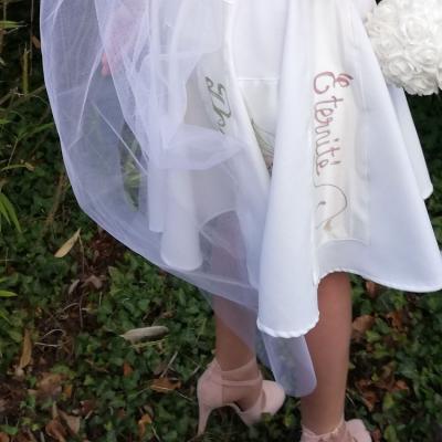 Robe Les Créations _Les Mariées de Fifi au jardin_ robe et traîne _i3