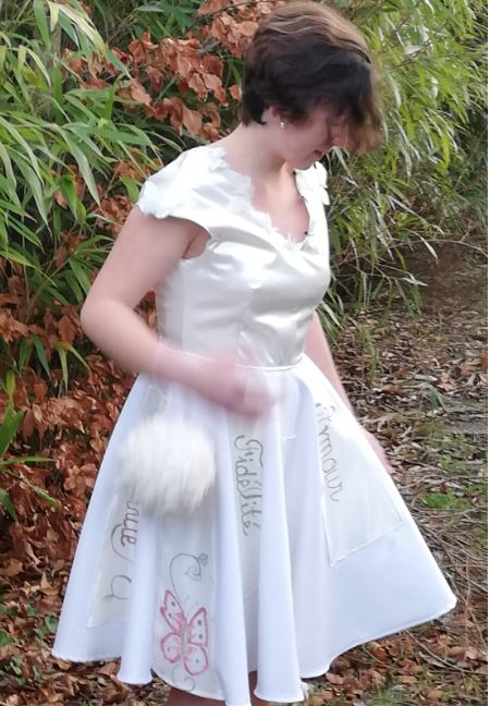 Robe Les Créations _Les Mariées de Fifi au jardin_ robe et traîne _i6