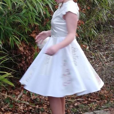 Robe Les Créations _Les Mariées de Fifi au jardin_ robe et traîne _i7