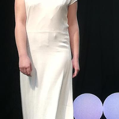 Robe Les Créations _Les Mariées de Fifi au jardin_ robe et traîne _i9