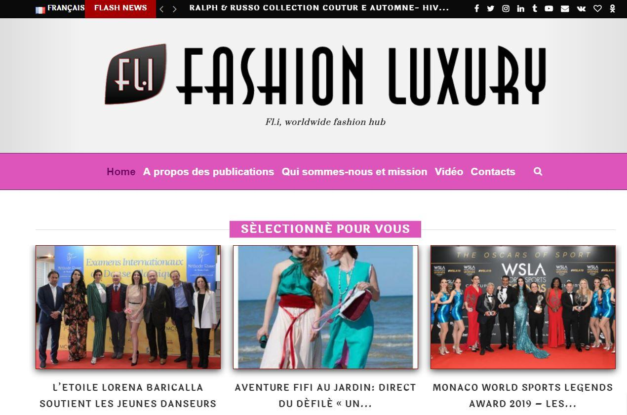 Article fashion luxury sur le direct du defile fifi au jardin un grand vent de fleurs 14102020