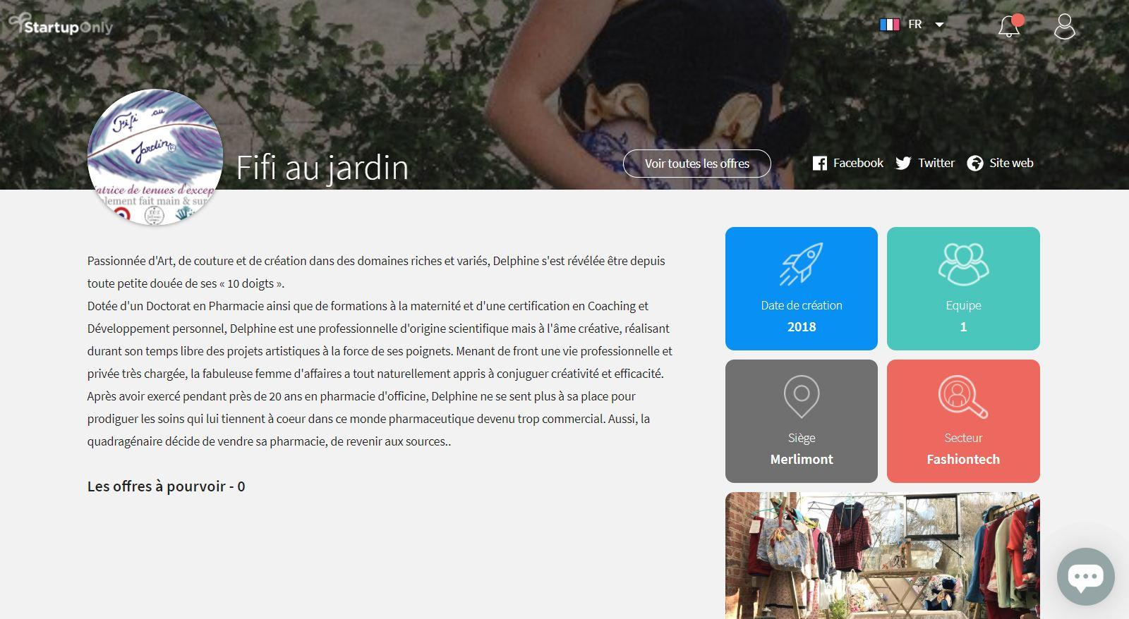 Article prive fifi au jardin 092020 startuponly