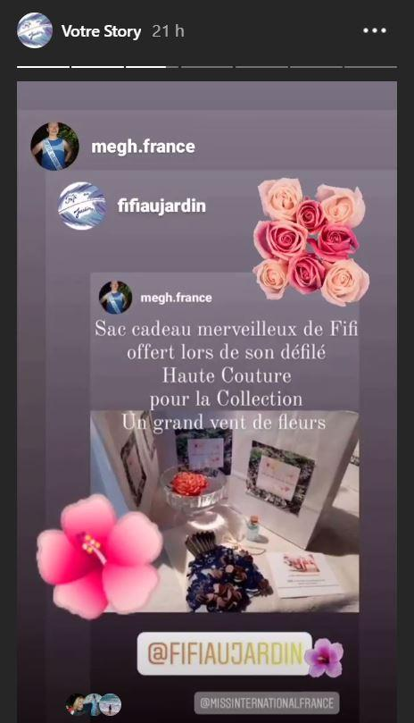 Backstage du defile de la collection sur la story fifi au jardin collection un grand vent de fleurs i2
