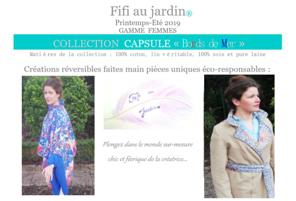 Catalogue fifi au jardin printemps ete 2019 distributeurs gamme femmes collection capsule bords de mer image
