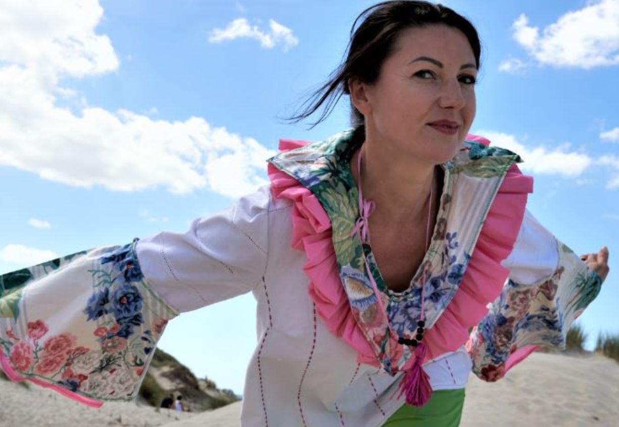 Collier la cueillette accessoire collection un grand vent de fleurs fifi au jardin printemps ete