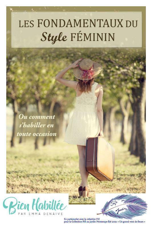 Couverture les fondamentaux du style feminin