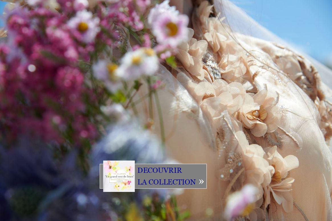 Découvrir la collection Un grand vent de fleurs