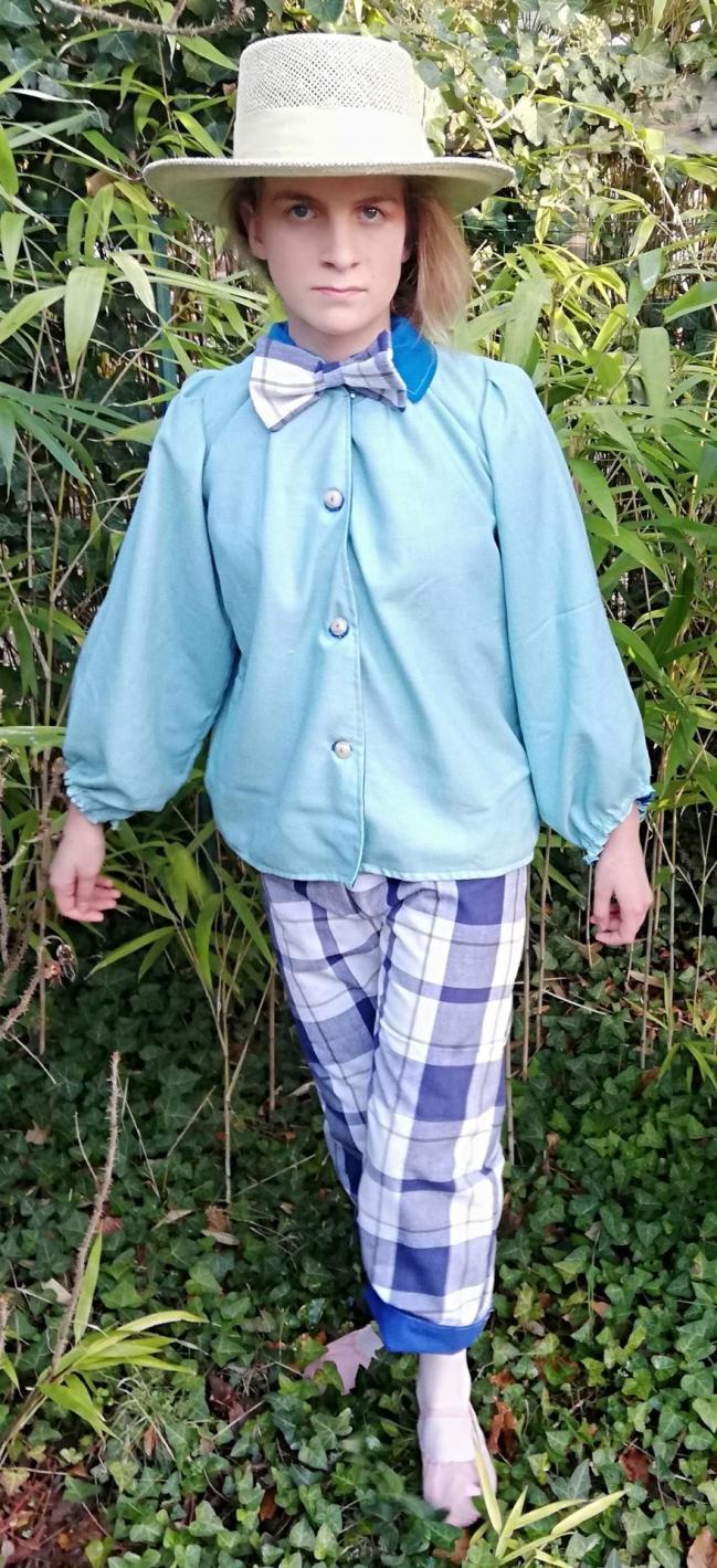 Chemise réversible pour garçons 'Véritable petit prince' Collection Capsule