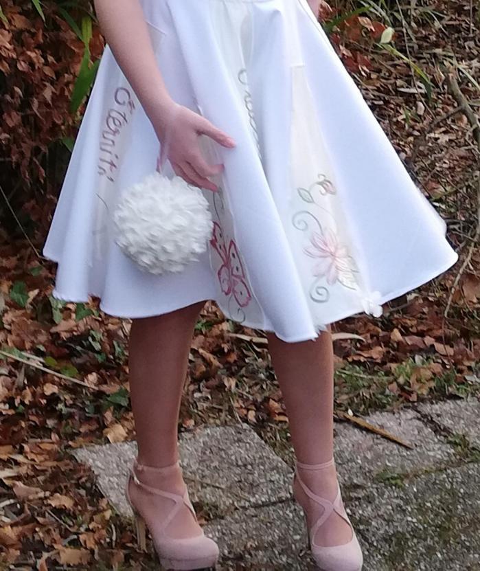 Robe de mariée Fifi au jardin 'Jour et Nuit Papillon'