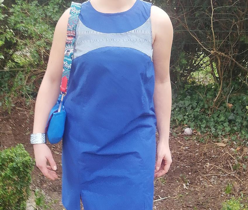 Robe réversible 'Bords de Mer' Printemps-Eté 2019 Fifi au jardin