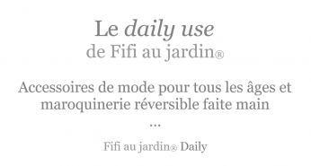 Le daily use by fifi au jardin