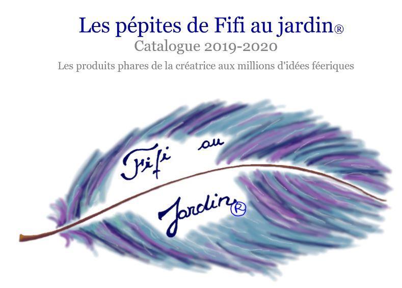 Les pepites de fifi au jardin creations phares catalogue 2019 2020 image premiere de couverture