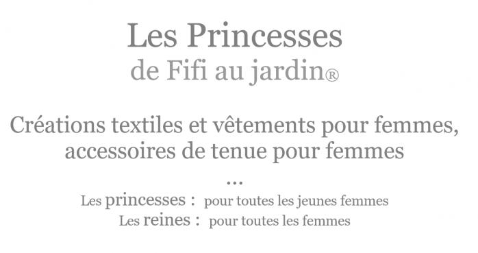 Les princesses de fifi au jardin