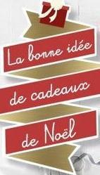 Logo idee cadeau pour noel fifi au jardin