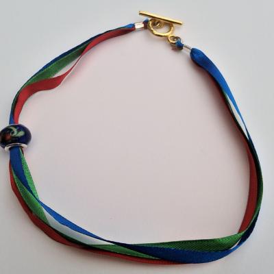 Robe réversible de demoiselle 'Fée Bleue' Collection Capsule