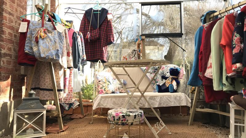 Photo design boutique fifi au jardin