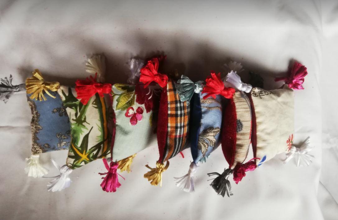 Pochons coussins de lavande collection automne hiver fifi au jardin maison
