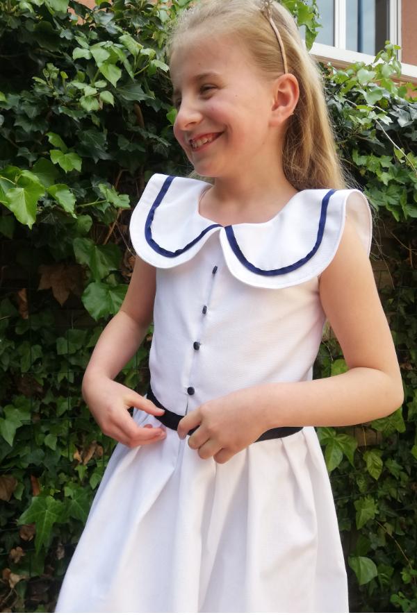 Robe de demoiselle d honneur fee marine gamme enfants fifi au jardin fifi au jardin mariages collection capsule bords de mer p11