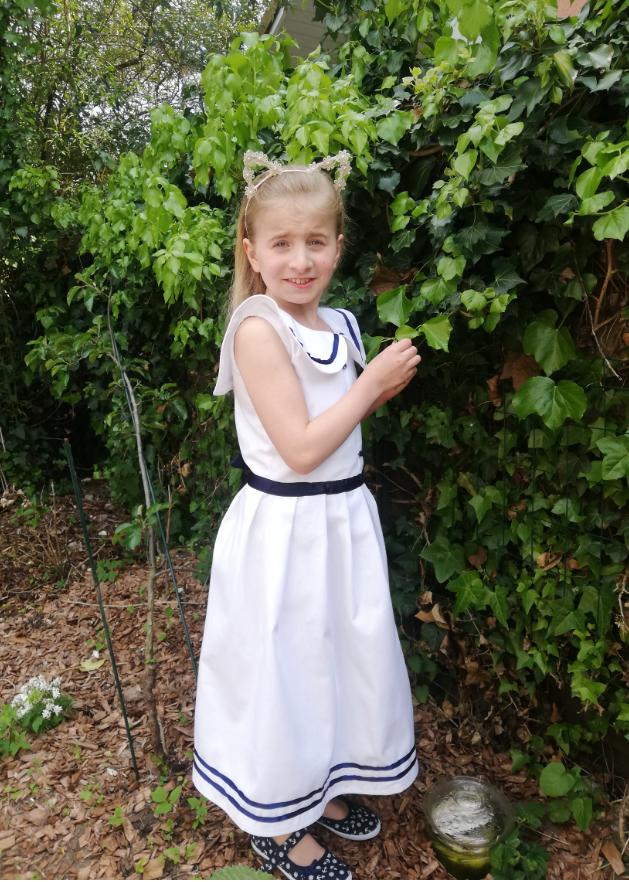 Robe de demoiselle d honneur fee marine gamme enfants fifi au jardin fifi au jardin mariages collection capsule bords de mer p2