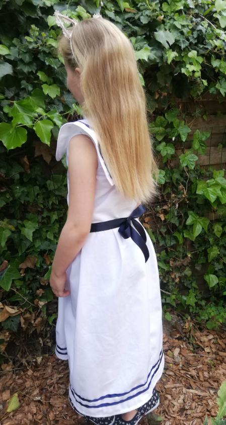 Robe de demoiselle d honneur fee marine gamme enfants fifi au jardin fifi au jardin mariages collection capsule bords de mer p6