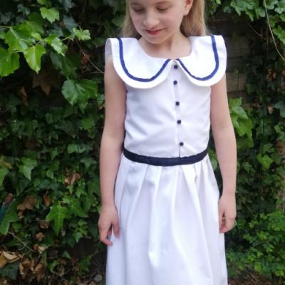 Robe de demoiselle d honneur fee marine gamme enfants fifi au jardin fifi au jardin mariages collection capsule bords de mer p7