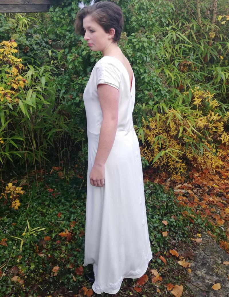 Robe de mariee reversible annees folles fifi au jardin