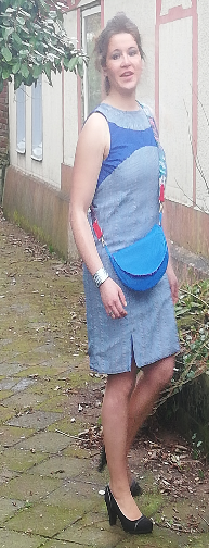Robe recto verso fifi au jardin ccfbdm pose 10