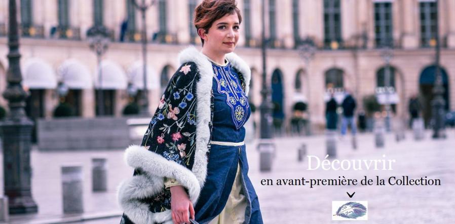 Une annee chez fifi presente le manteau princesse anastasia decouvrir en avant premiere de la collection